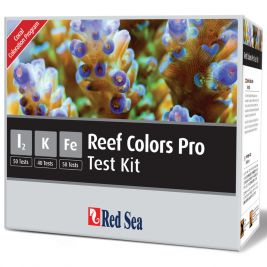 Red Sea Reef Colors Pro Test Kit  I2 K Fe