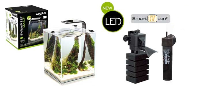 AQUAEL SHRIMP SET SMART LED II