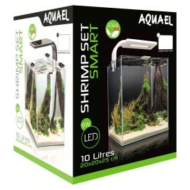 Аквариум Aquael Shrimp Set Smart 10 LED II белый 10л AQ-114956