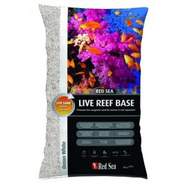 Грунт Red Sea Live Reef Base Aragonite Sand Ocean White 10кг RS-R22635