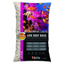 Грунт Red Sea Live Reef Base Aragonite Sand Pink 10кг RS-R22630